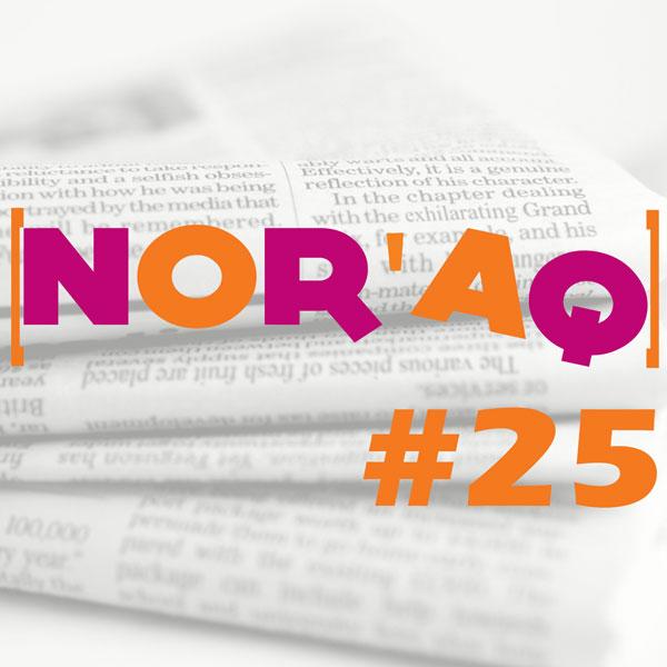 Le 25ème numéro de Nor'Aq de décembre 2018 est disponible en ligne