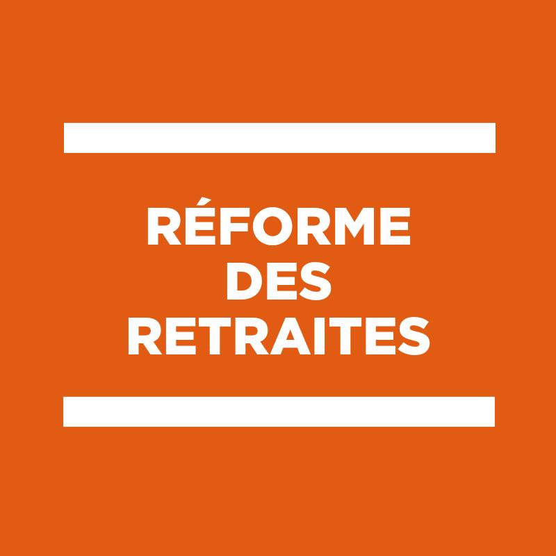 Intervention de Frédéric SEVE sur la réforme des retraites