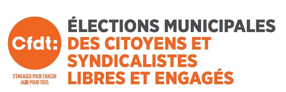 Élections municipales 2020 : la CFDT appelle à aller voter