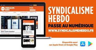 "<a href=""https://s3cnoraq.fr/wp-content/uploads/2021/01/syndicalime-hebdo.pdf""><span style=""color: #ff6600;"">Syndicalisme Hebdo passe au numérique!</span></a>"