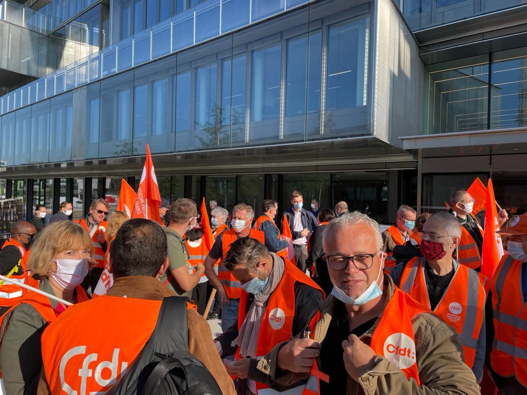 """<span style=""""color: #ff6600; font-size: 18pt;"""">Respectez les salariés d'Orange …. Mobilisons-nous pour notre avenir ! Journée de grève du 21 septembre 2021</span>"""