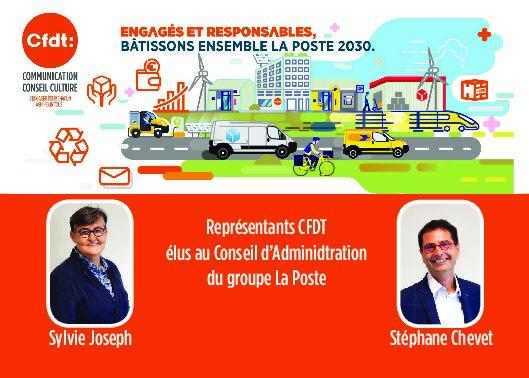"""<p style=""""text-align: center;""""><span style=""""color: #ff6600; font-size: 14pt;"""">Quand nos représentants CFDT élus au CA de la Poste</span> <span style=""""color: #ff6600; font-size: 14pt;""""> viennent à Bordeaux!</span></p>"""